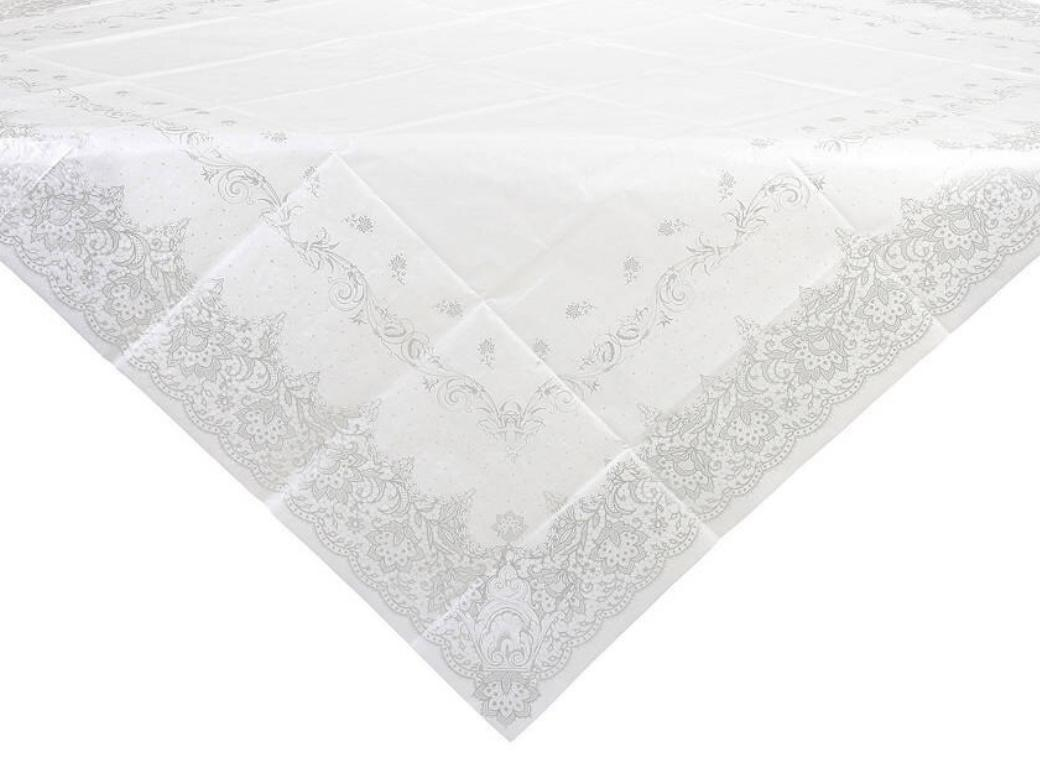 Party Porcelain Silver Table Cover