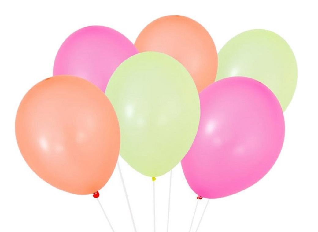 Party Time Balloons 12pk