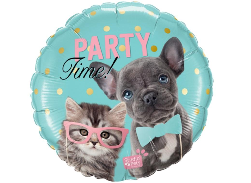 Party Time Pets Foil Balloon