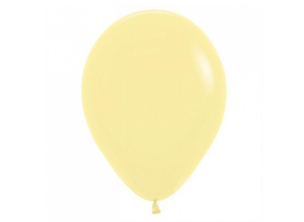 Pastel Lemon Balloon - Single