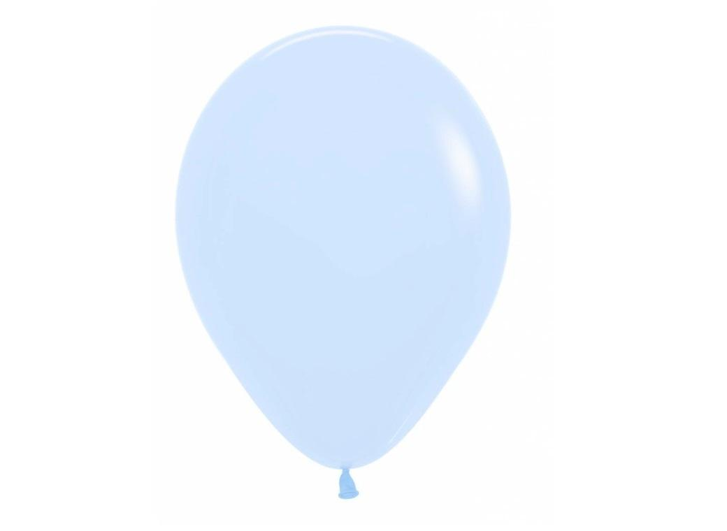 Pastel Matte Blue Balloon - Single
