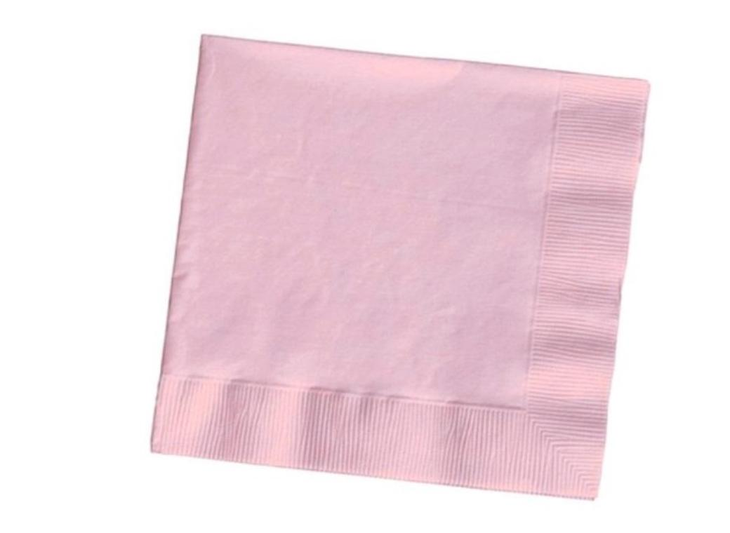 Pastel Pink Lunch Napkins - 50pk