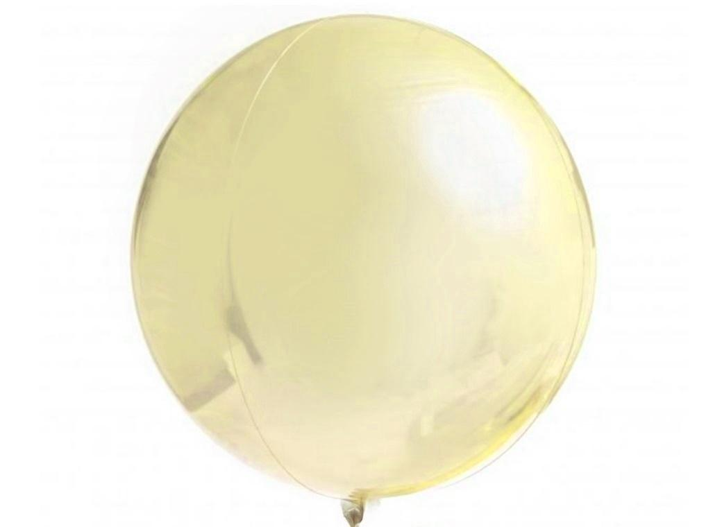 Orbz Balloon - Pastel Yellow