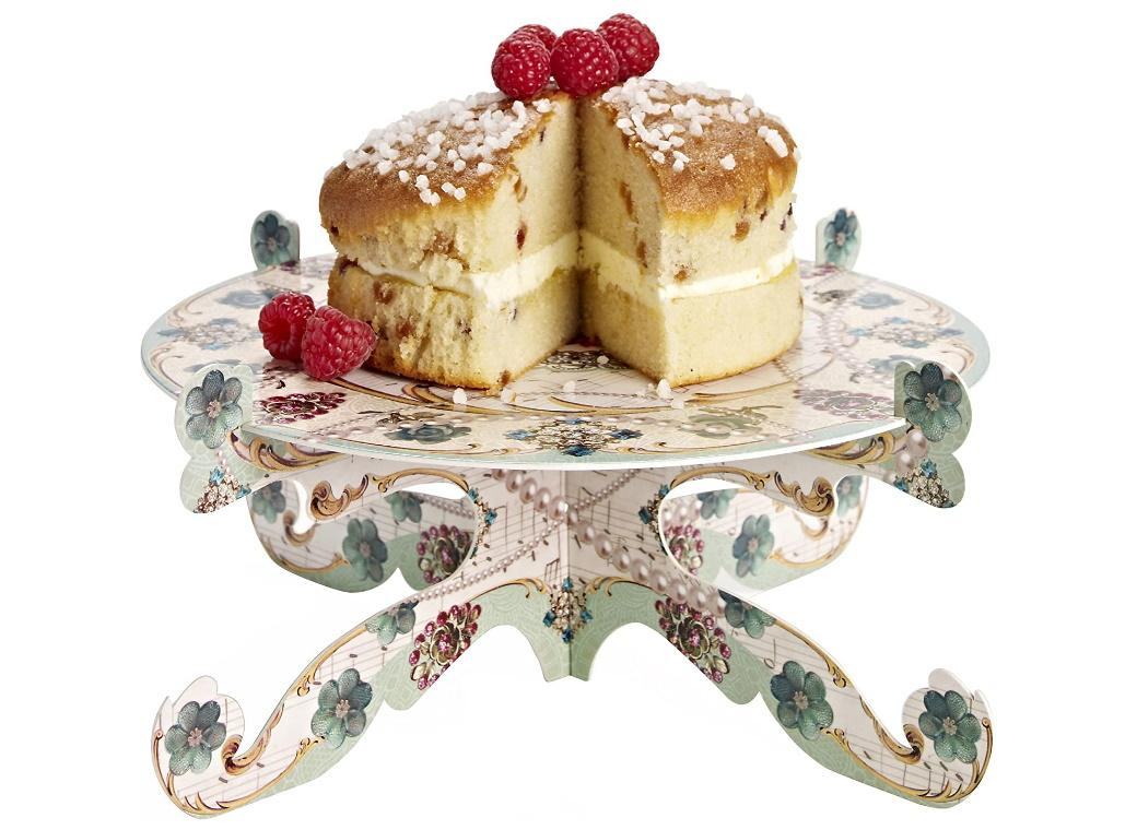 Pastries & Pearls Cake Stand