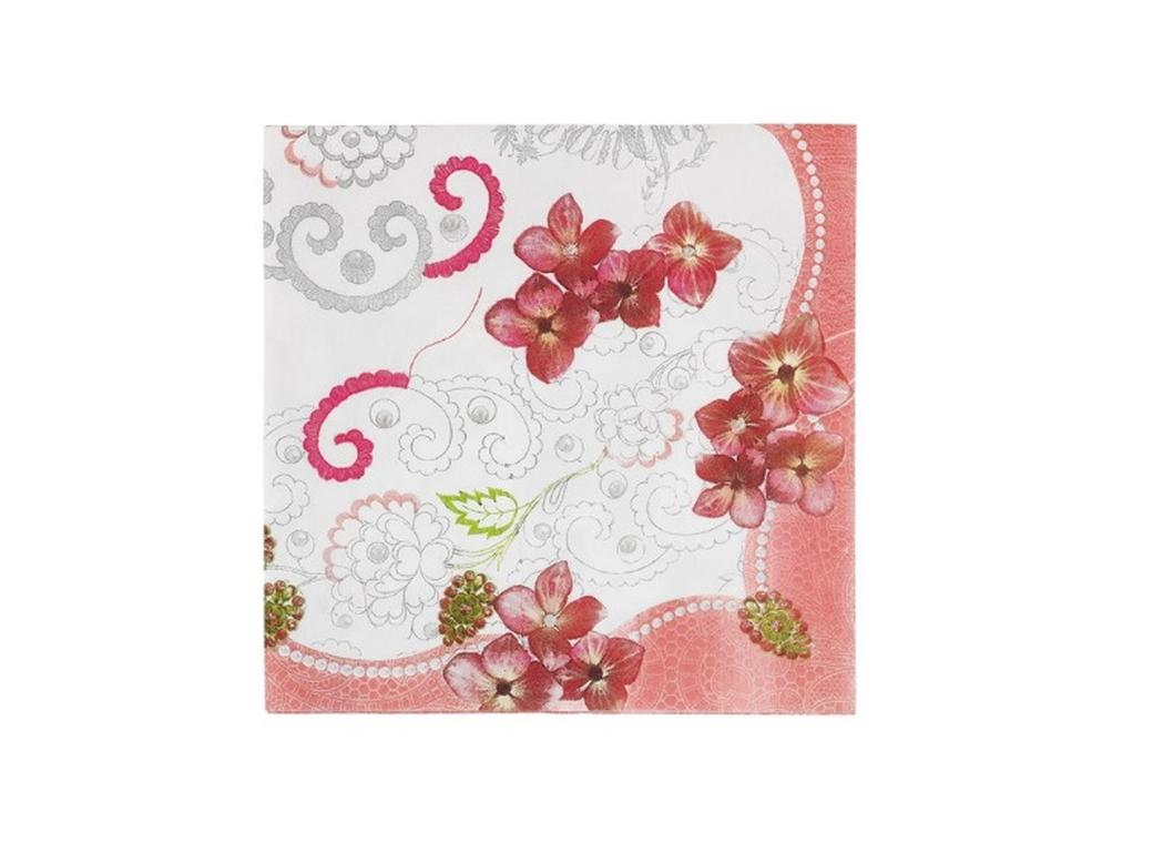Pastries & Pearls - Large Napkins