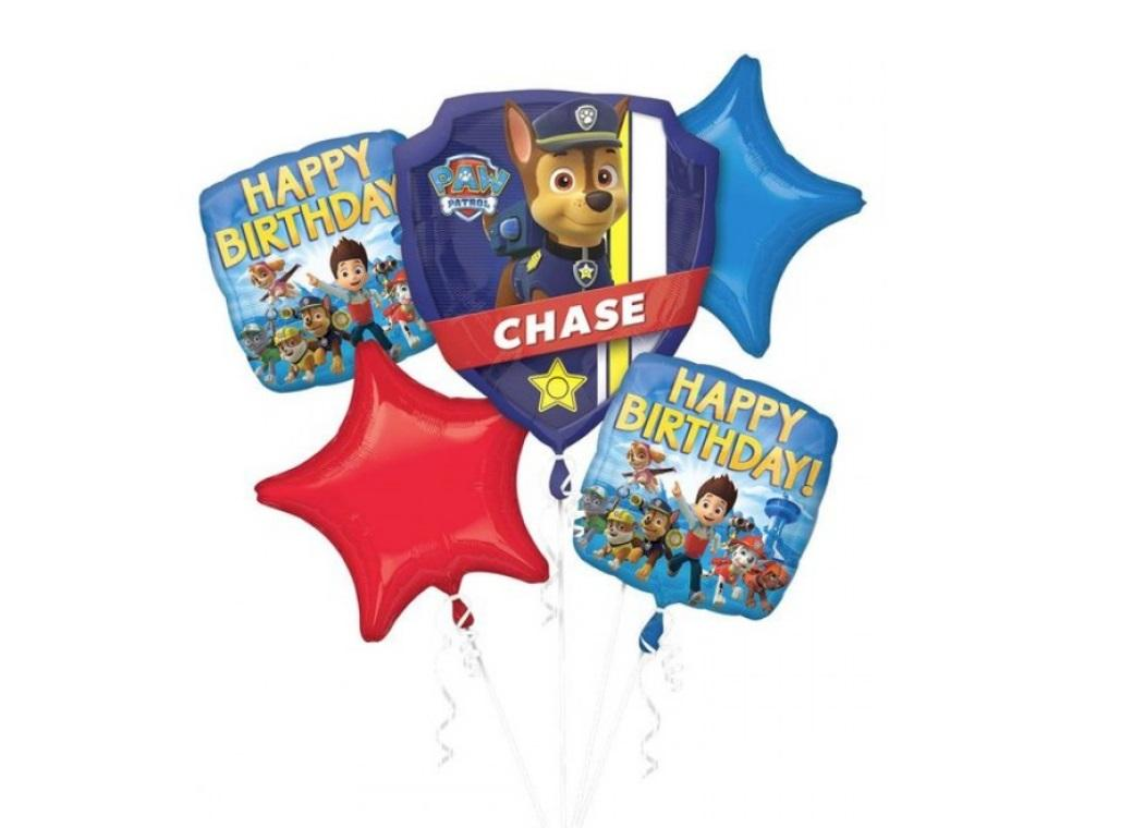 Paw Patrol - Foil Balloon Bouquet