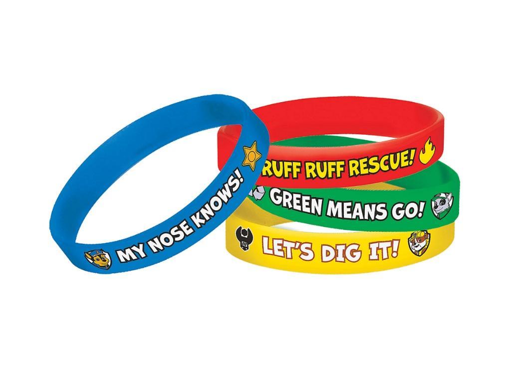 Paw Patrol Bracelets 4pk