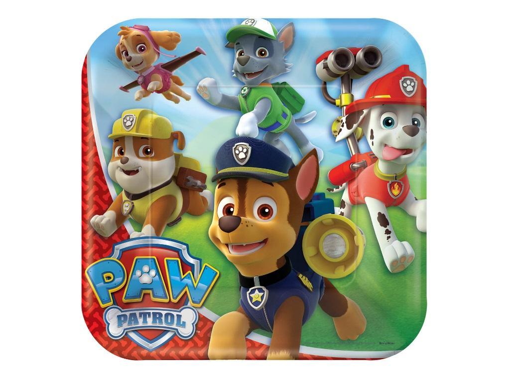 Paw Patrol Dinner Plates