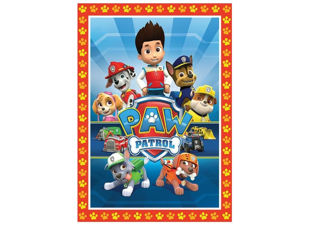 Edible Icing Image - Paw Patrol A4