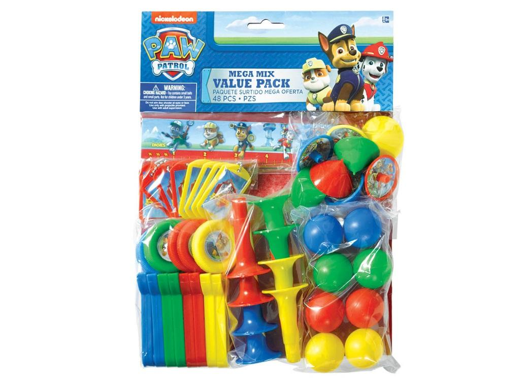 Paw Patrol Party Favour Value Pack