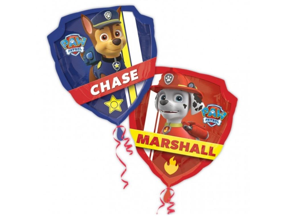 Paw Patrol Shaped Foil Balloon