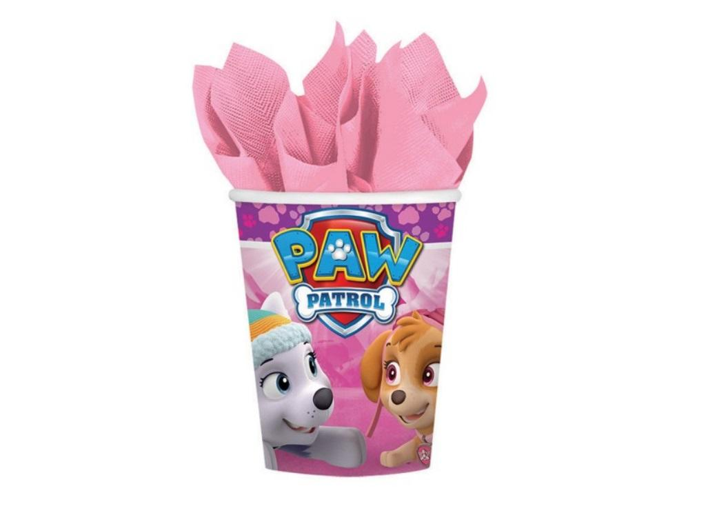 Pink Paw Patrol Cups