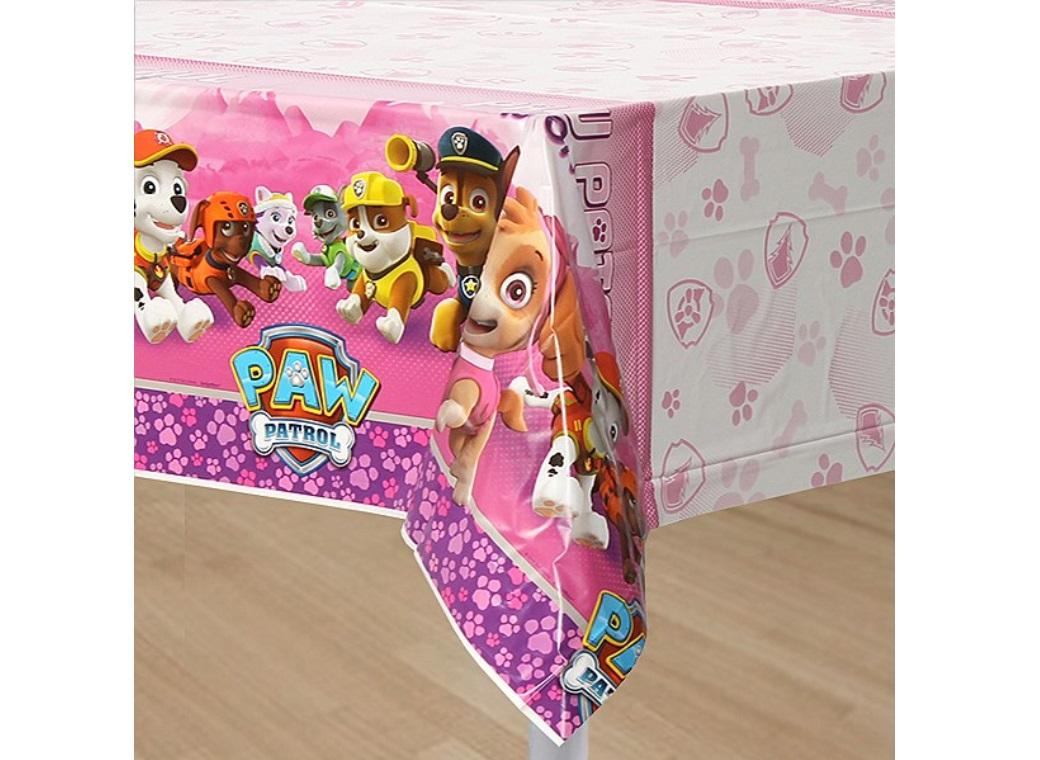 Pink Paw Patrol Tablecover