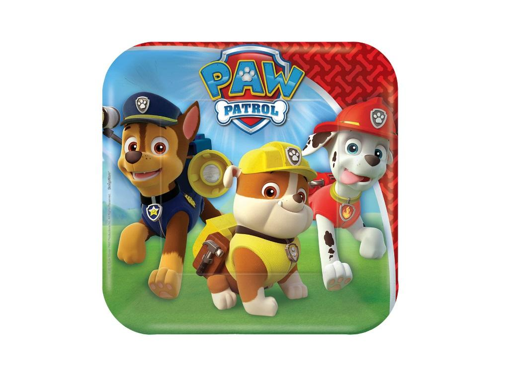 Paw Patrol Lunch Plates