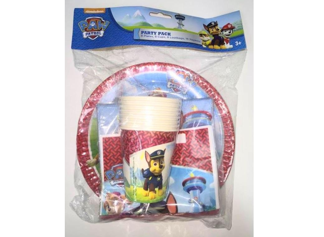 Paw Patrol Party Pack - 40pce