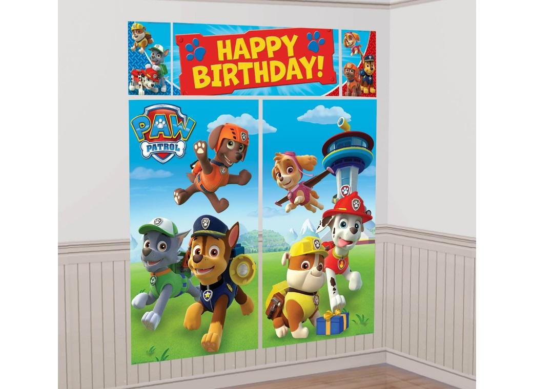 Paw Patrol Wall Decorating Kit
