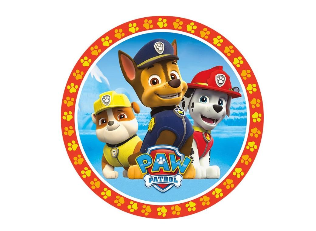 Edible Icing Image - Paw Patrol Chase & Co