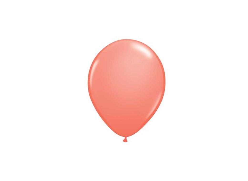 """Peach Balloons 5"""""""