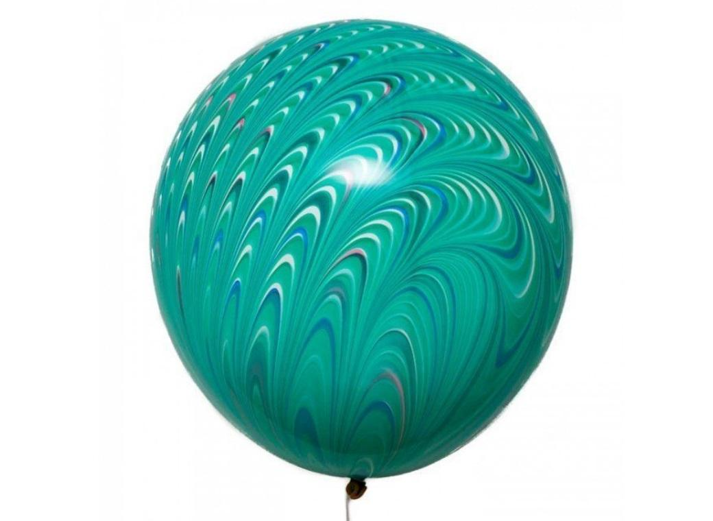 Peacock Balloon - Green