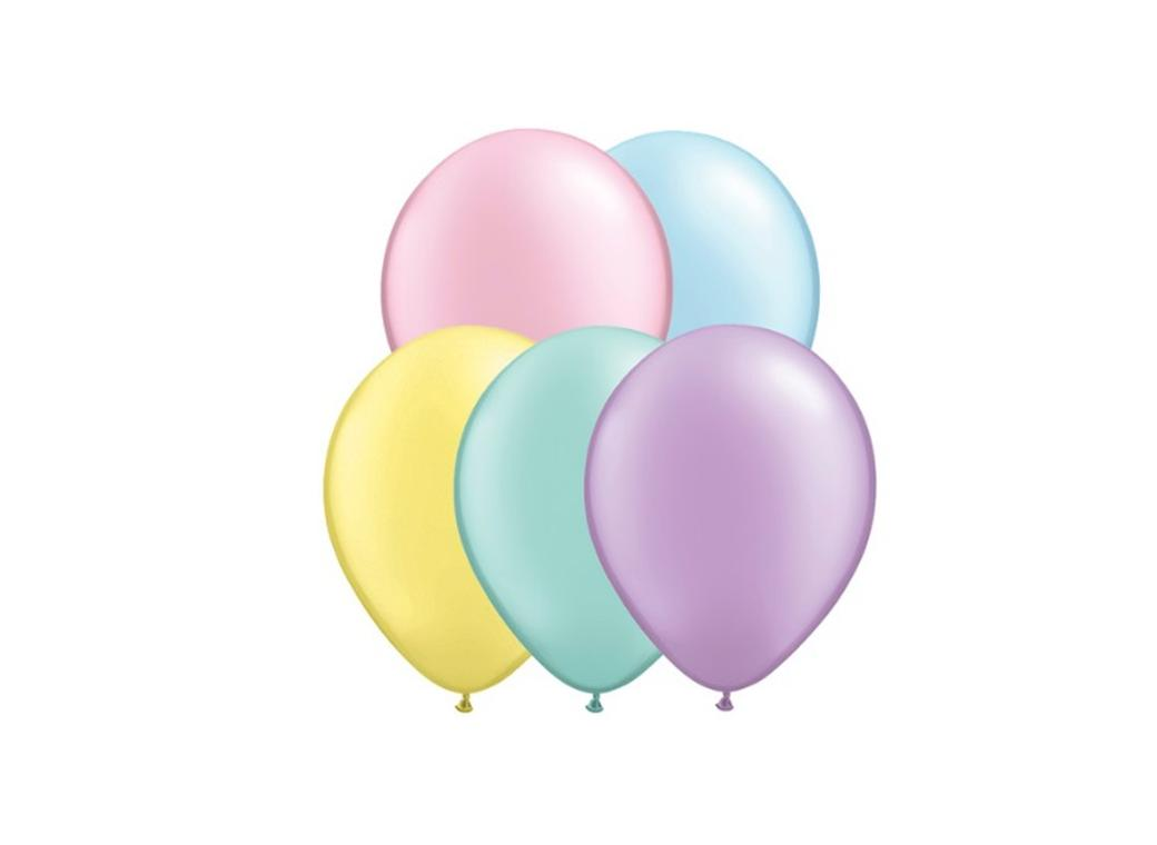 Pastel Pearl Assorted Balloons 5""