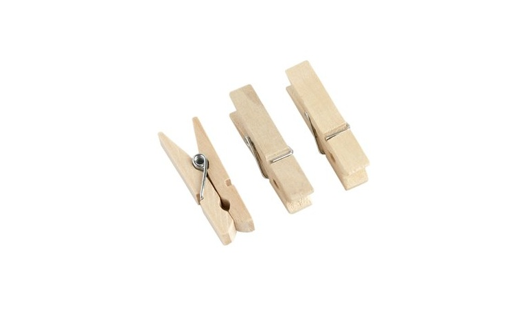 Wooden Pegs - Pack of 12