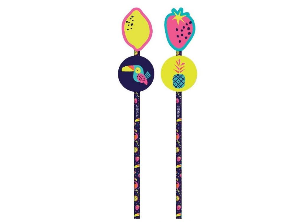 Novelty Pencils 2pk - Fruits