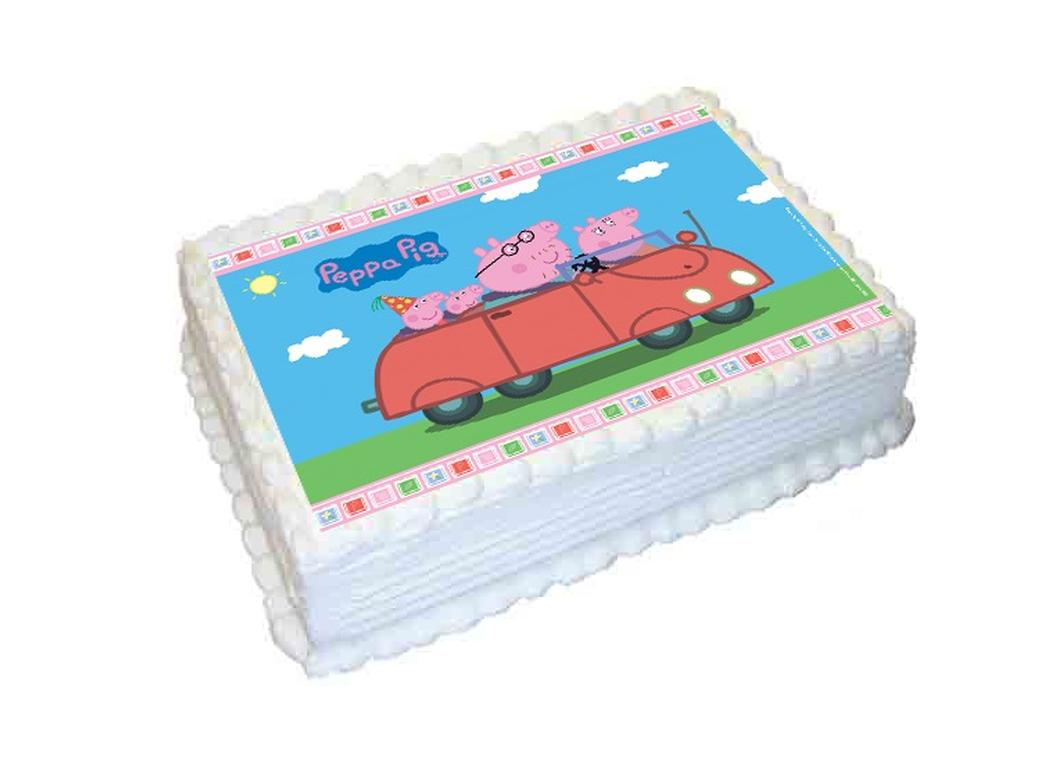 Edible Icing Image - Peppa Pig A4