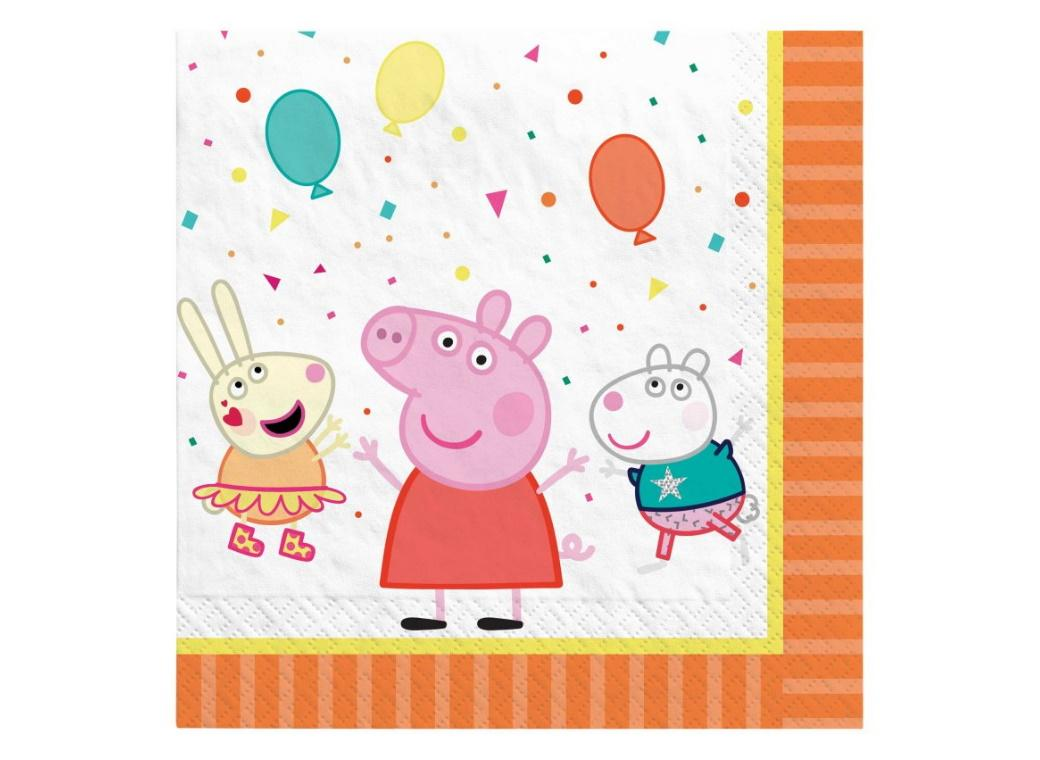 Peppa Pig Lunch Napkins 16pk