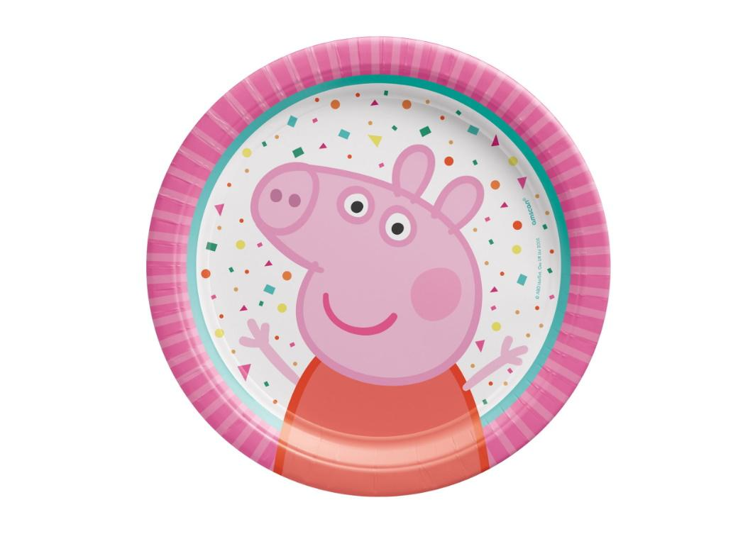 Peppa Pig Lunch Plates 8pk