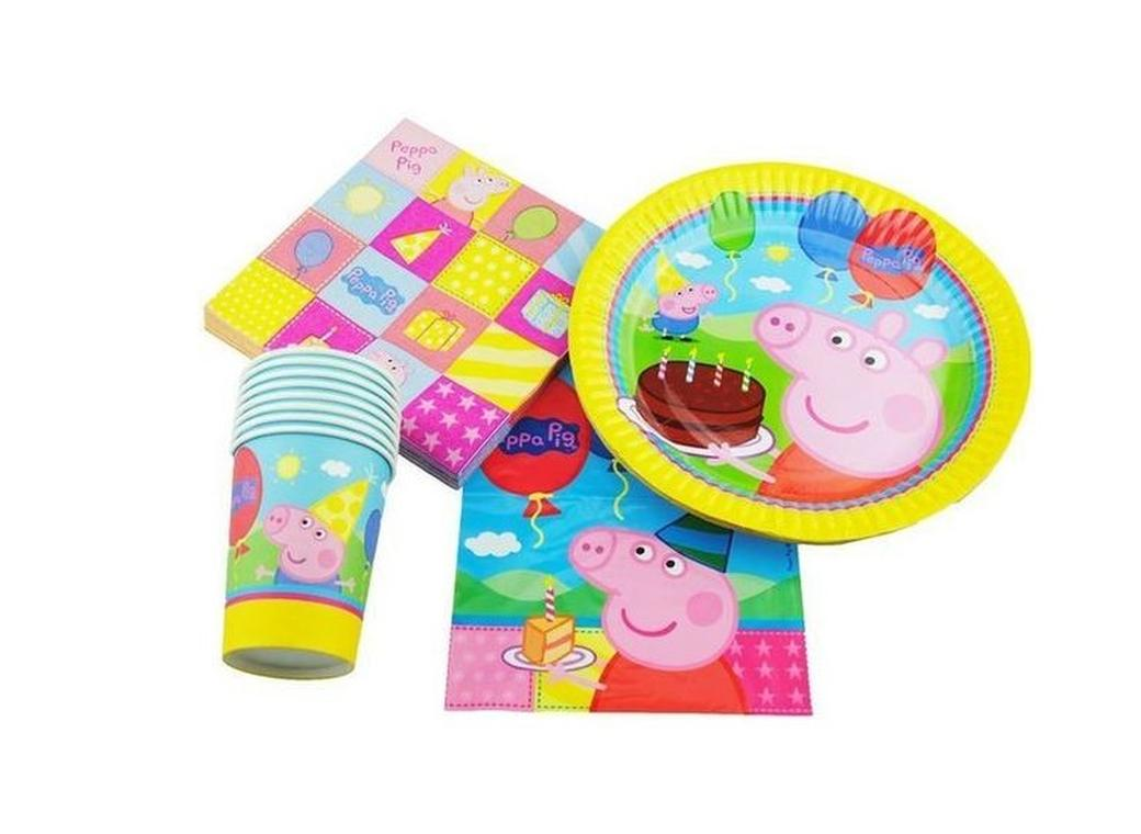 party decorations themed decor diy com archivosweb ideas peppa pig favors