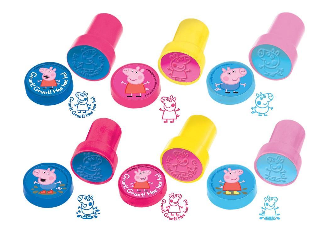 Peppa Pig Stampers 6pk