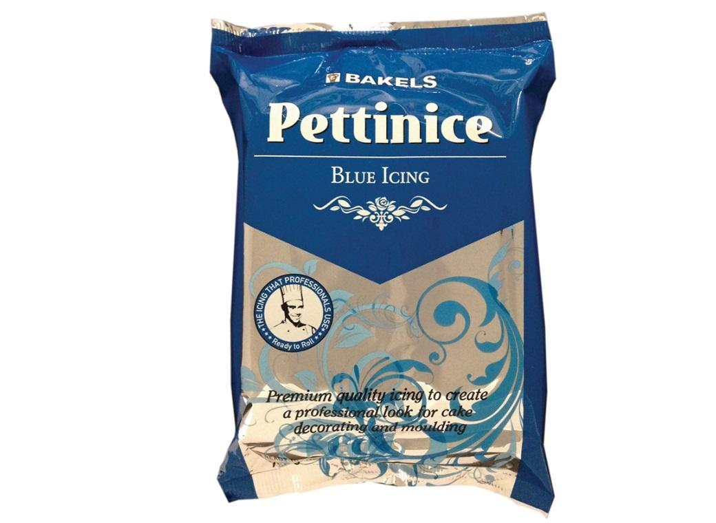 Bakels Pettinice Icing - Blue