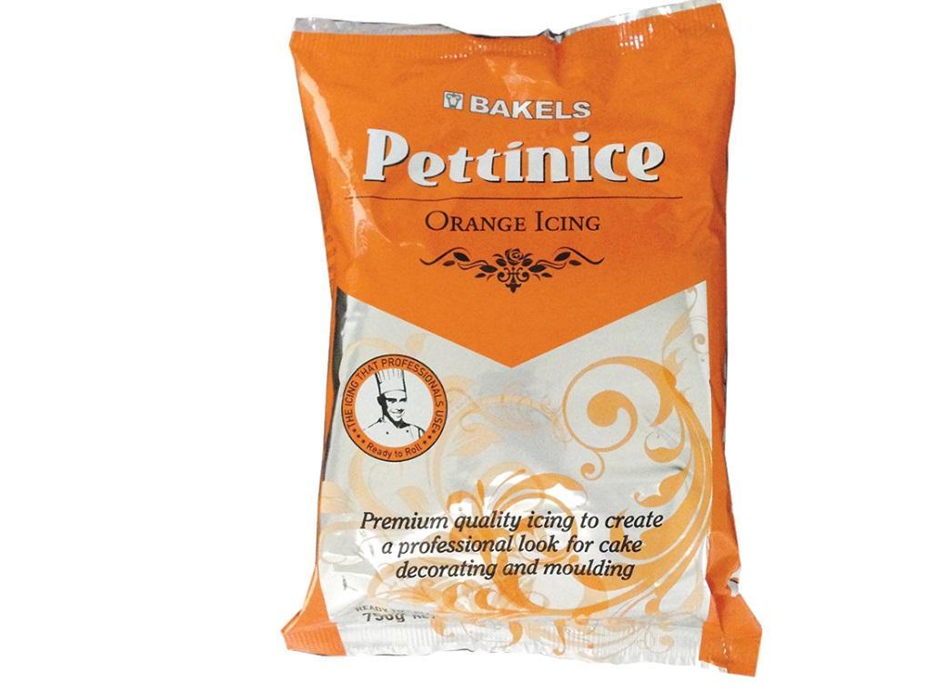 Bakels Pettinice Icing - Orange
