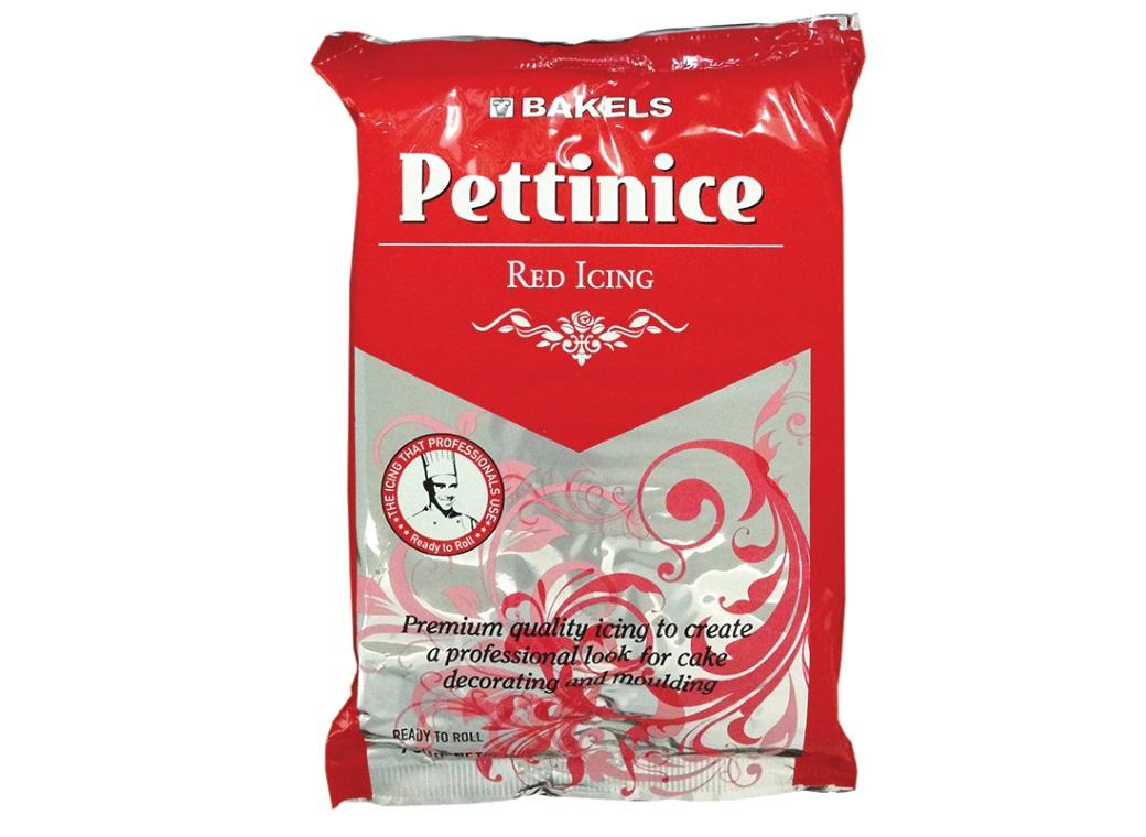 Bakels Pettinice Icing - Red