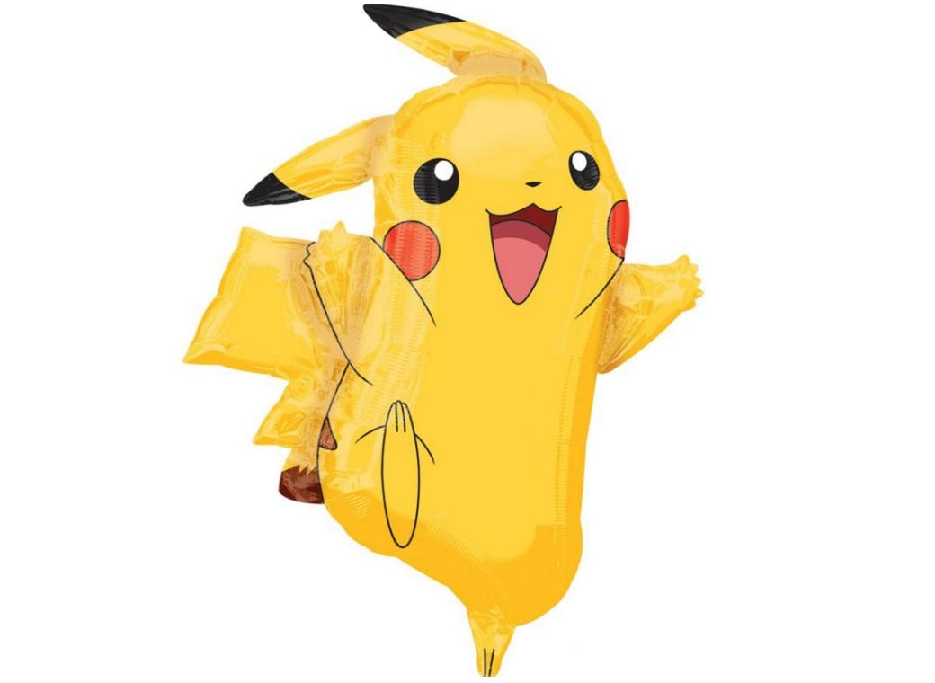 Pikachu SuperShape Foil Balloon