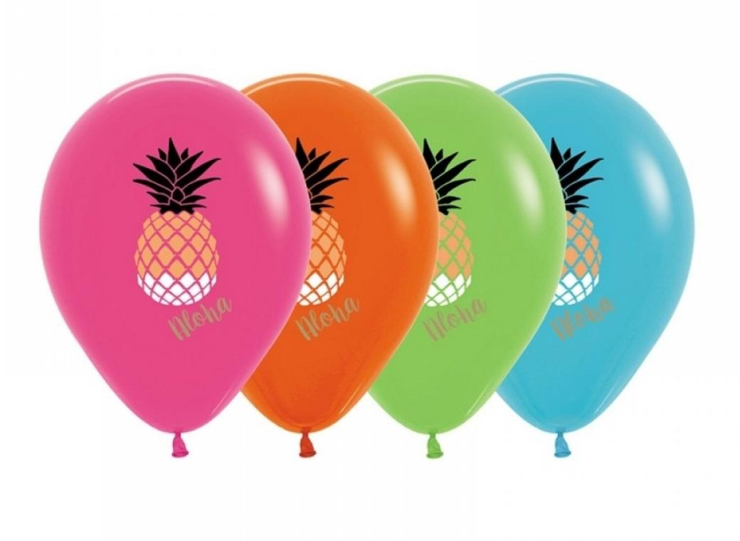 Pineapple Balloons 5pk