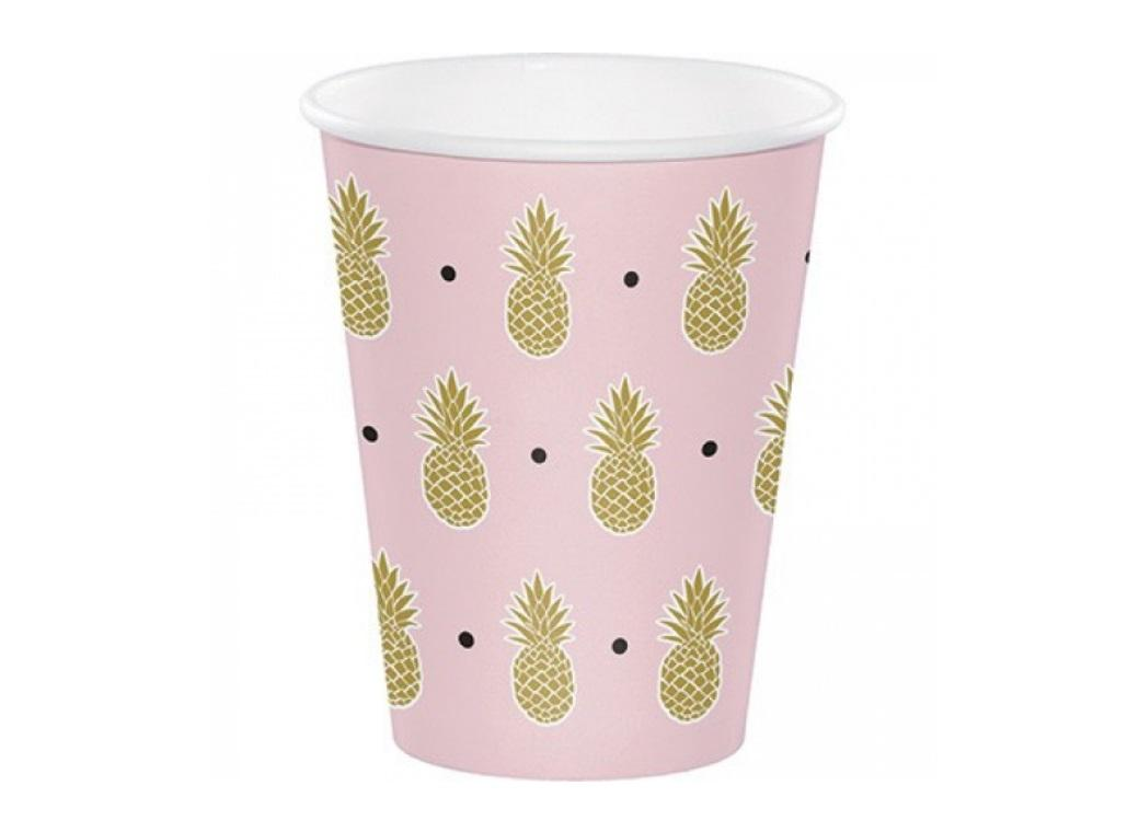 Pineapple Luxe Cups 8pk