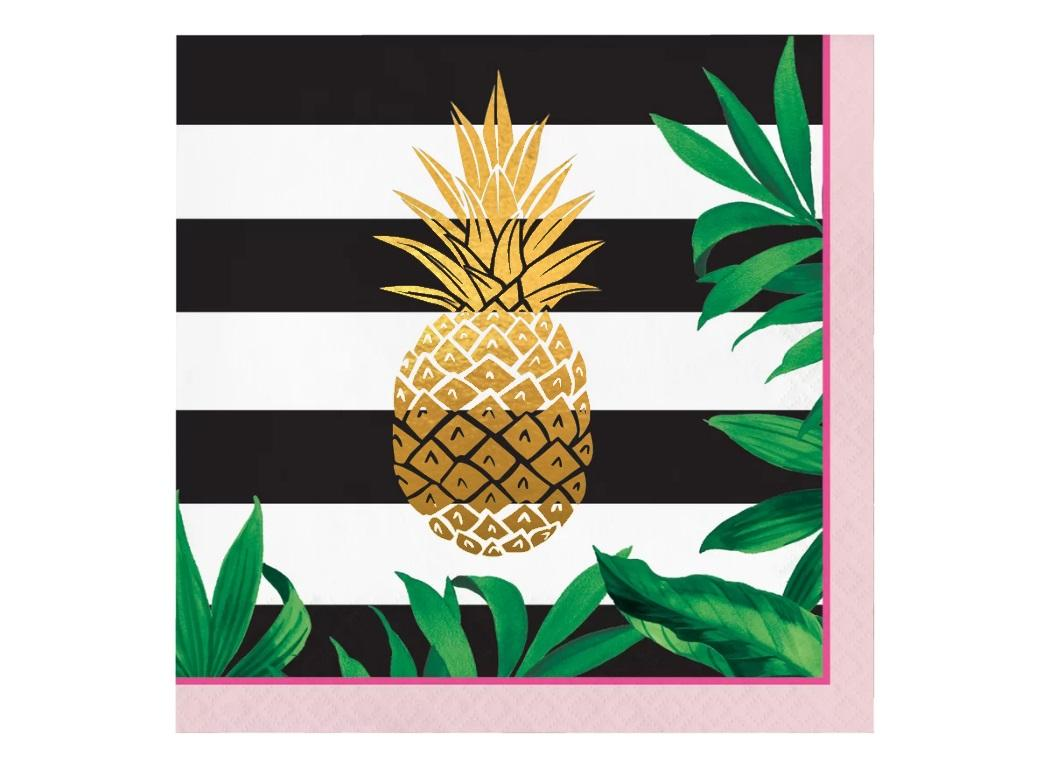 Pineapple Luxe Lunch Napkins 16pk