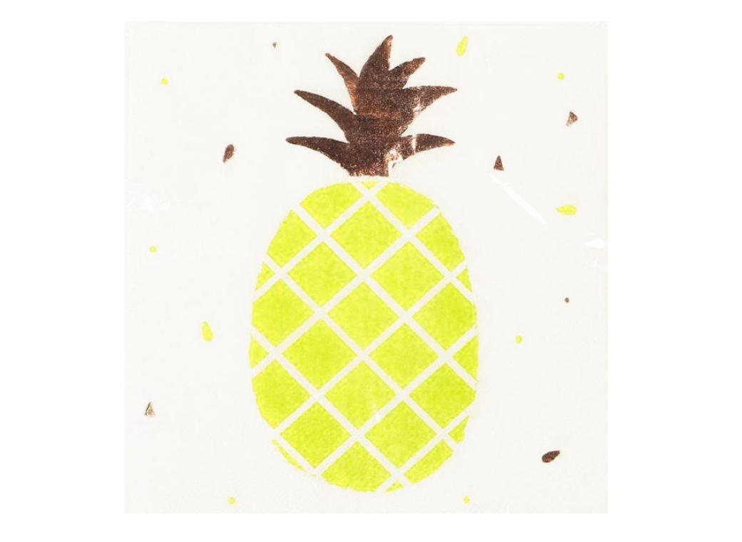 Pineapple Napkins 10pk