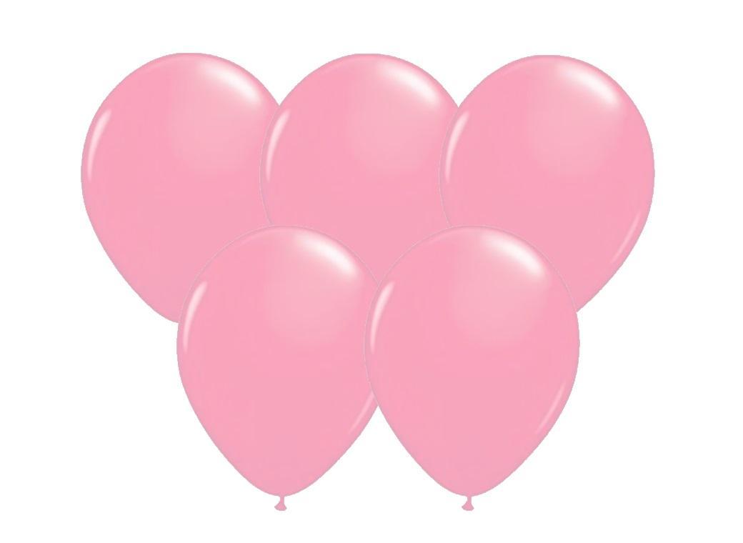 Pale Pink Balloons 25pk