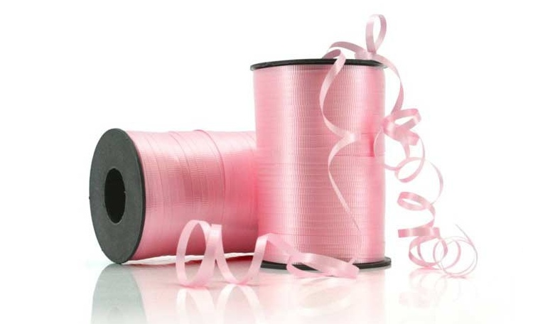Curling Ribbon - Pale Pink 91m