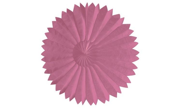 Tissue Fan Pink 25cm