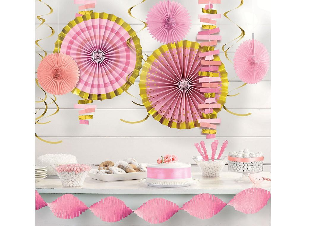 Pink & Gold Room Decorating Kit