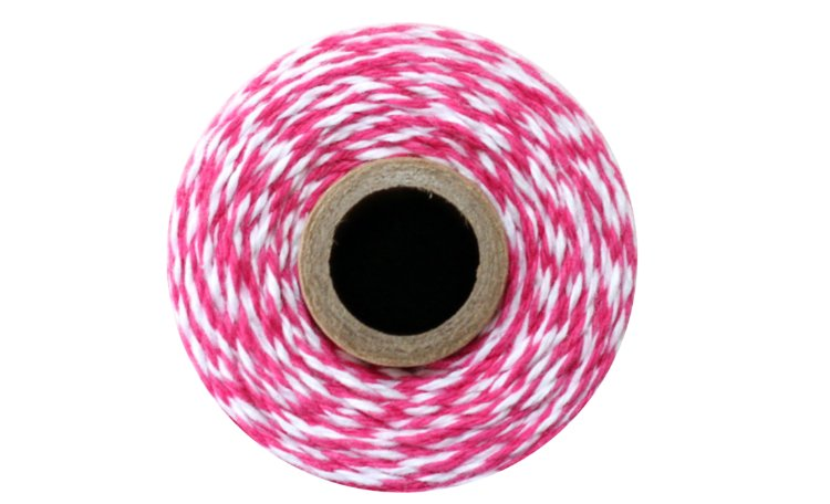 100% Cotton Bakers Twine – Pink Sorbet