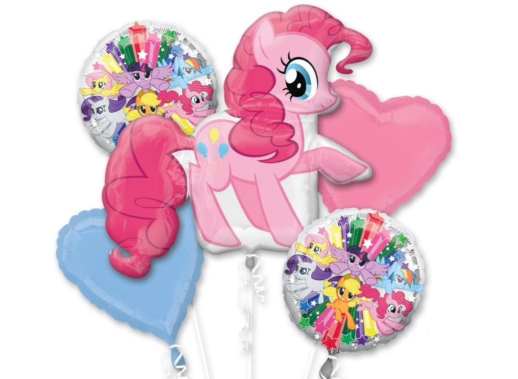 Pinkie Pie Foil Balloon Bouquet