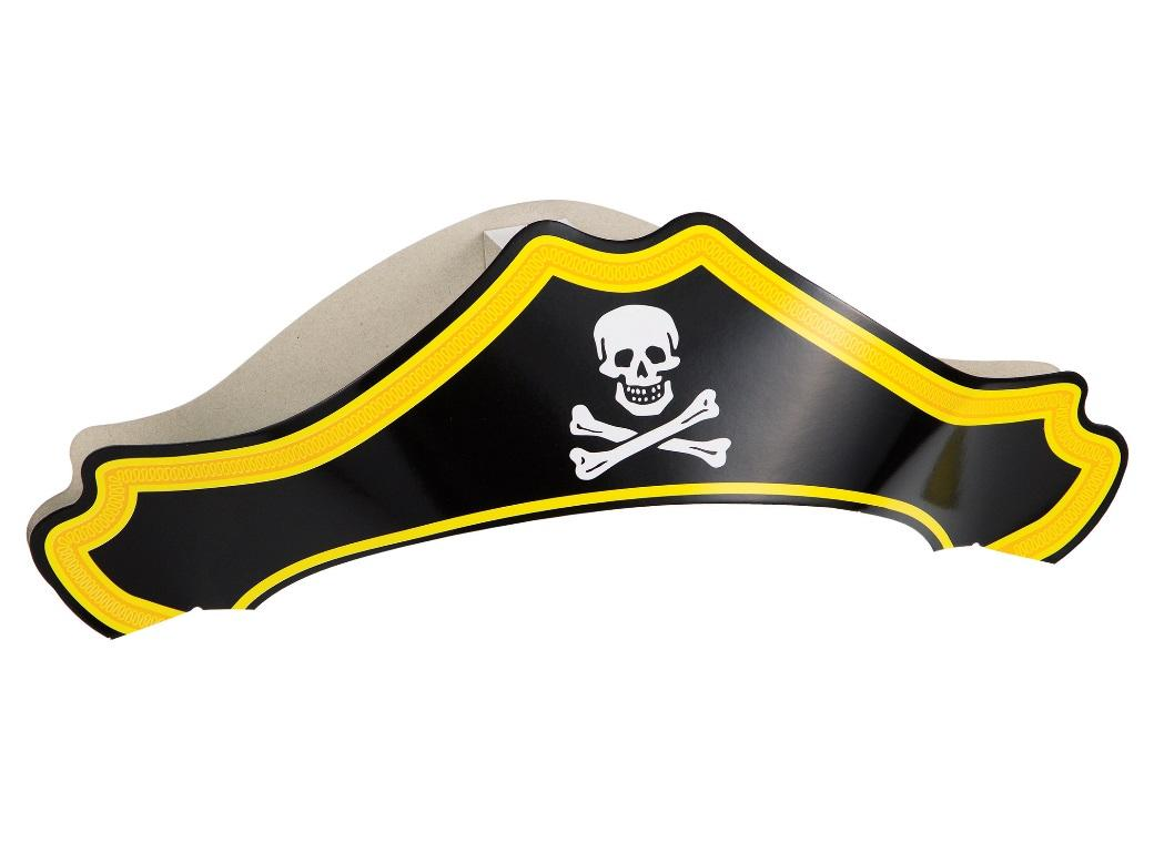 Pirate Hats 8pk
