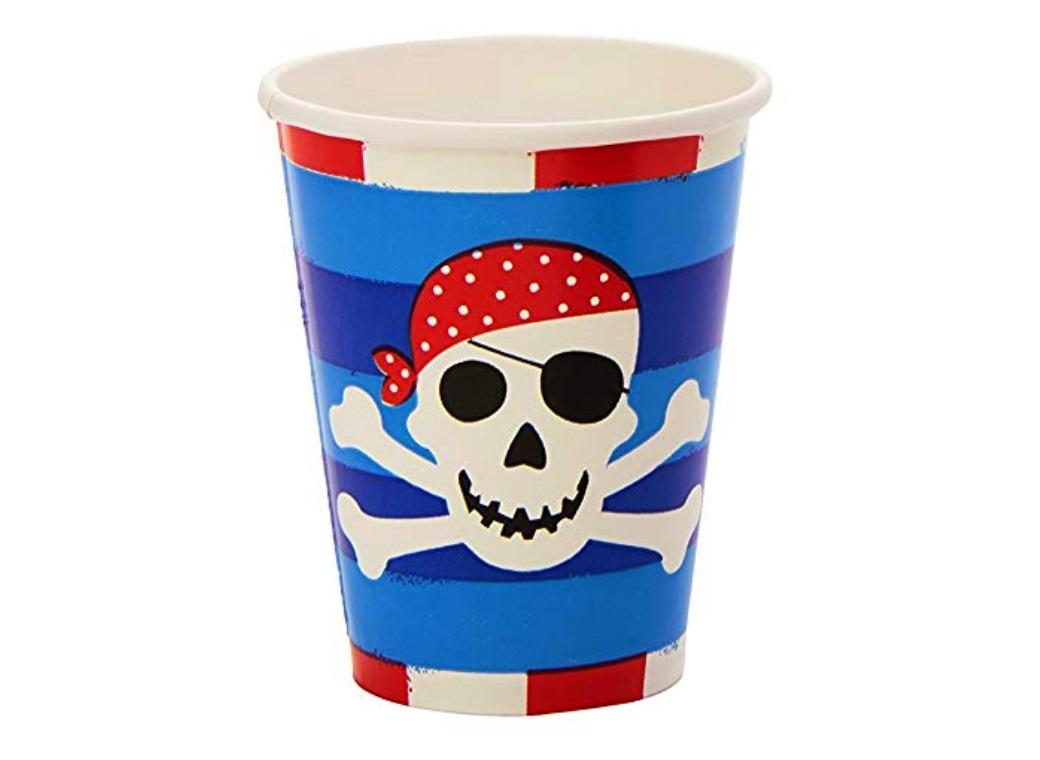 Pirates Treasure Cups 8pk