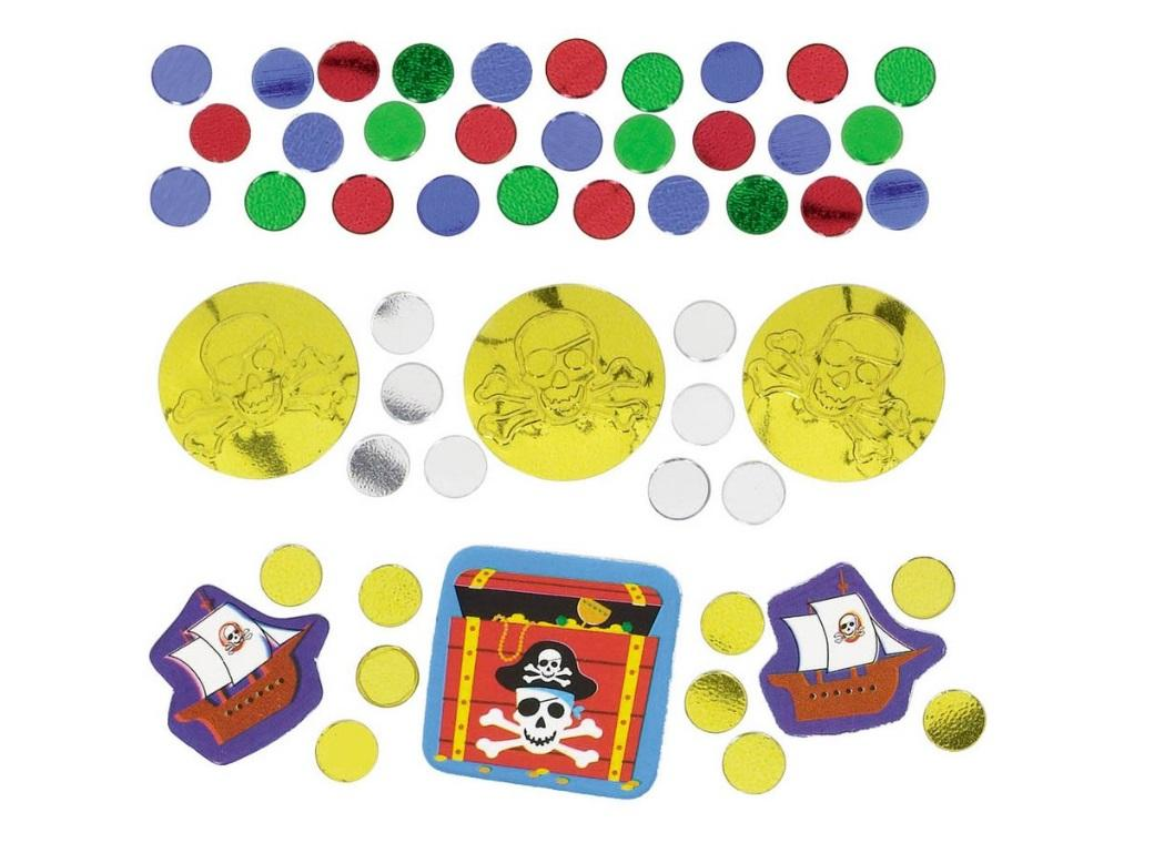 Pirates Treasure Value Confetti Pack