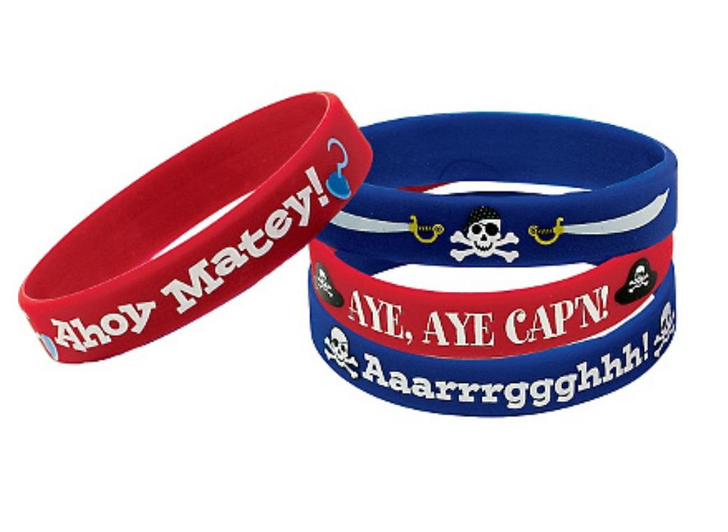 Pirates Treasure Bracelets 4pk