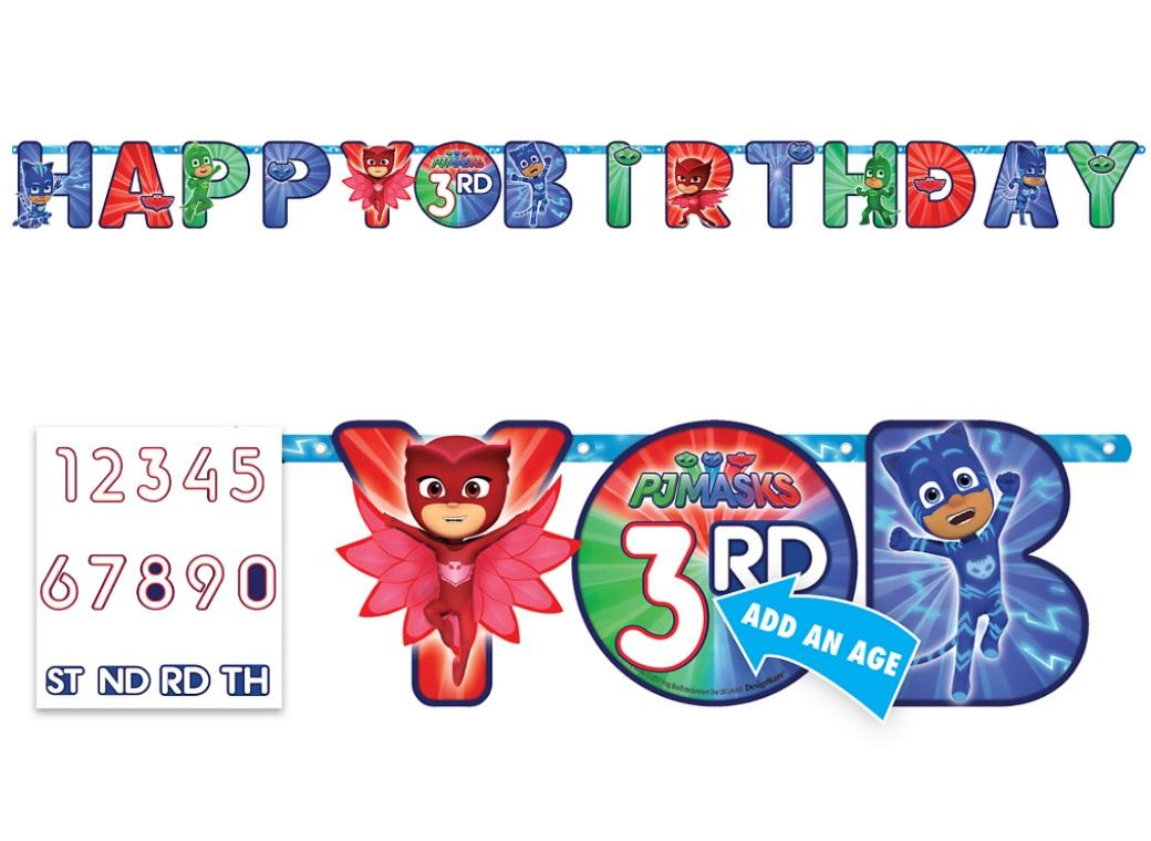 PJ Masks Add An Age Banner
